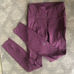 Lululemon Fast and Free Tight Size 2